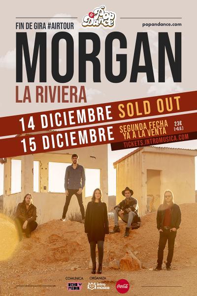 MORGAN: fin de gira en La Riviera [SEGUNDA FECHA]