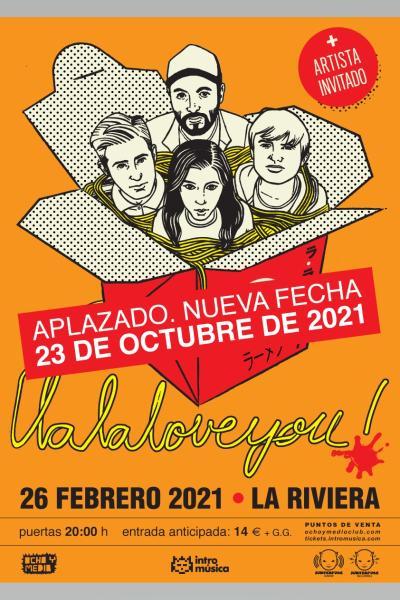 La La Love You en Madrid (La Riviera)
