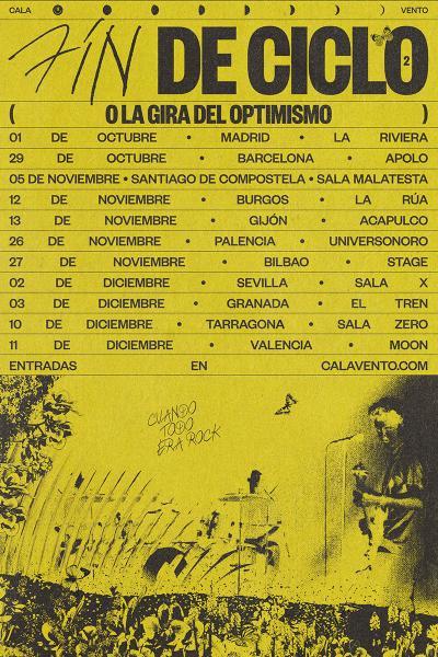 Fin de gira Cala Vento en Madrid / La Riviera