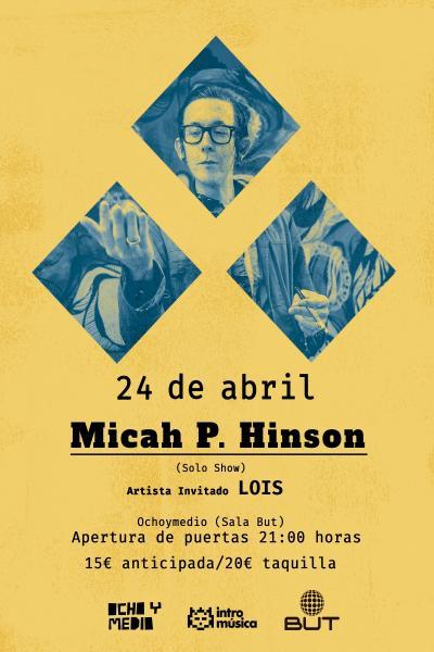 Micah P. Hinson en Madrid (solo show)