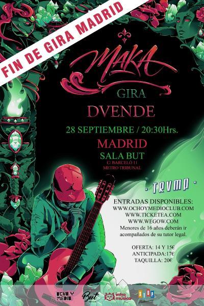 MAKA fin de gira Madrid (TRVMP)