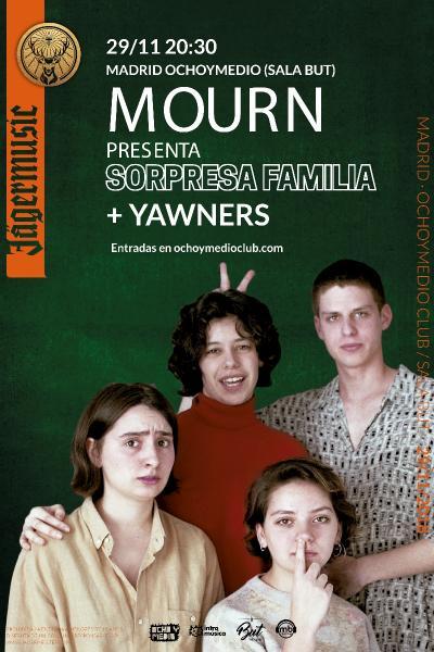 Mourn presenta 'Sorpresa Familia' en Madrid (Ochoymedio Club)
