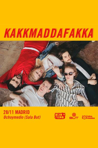 Kakkmaddafakka en Madrid (Ochoymedio Club)