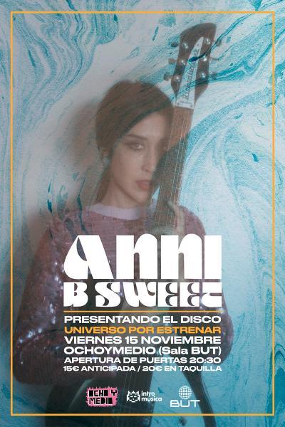 Anni B Sweet presenta 'Un Universo por Estrenar' en Madrid (Ochoymedio)