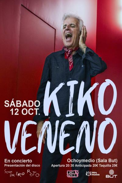 Kiko Veneno en Madrid (Ochoymedio Club)