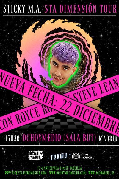 Fin de gira Sticky M.A en TRVMP (Madrid) [SEGUNDA FECHA]