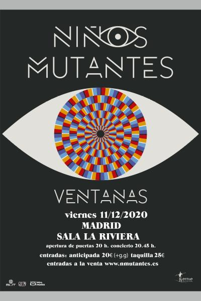 Niños Mutantes en Madrid (Ochoymedio, Sala BUT)