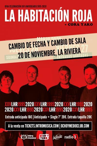 La Habitación Roja: concierto especial 25 aniversario (Madrid / Ochoymedio)
