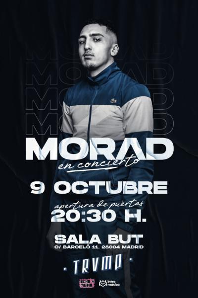 MORAD en TRVMP (Madrid, Sala BUT)