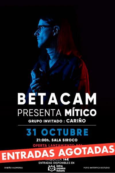 Betacam presenta 'Mítico' en Madrid (Siroco)