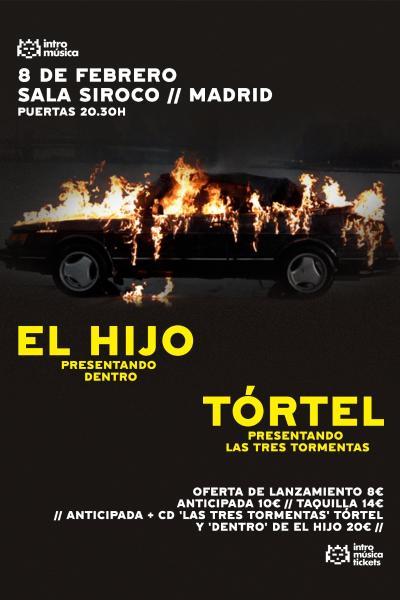 El Hijo + Tórtel en Madrid (Siroco)