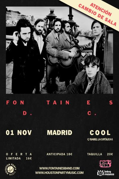 FONTAINES D.C en Madrid (Cool Stage)