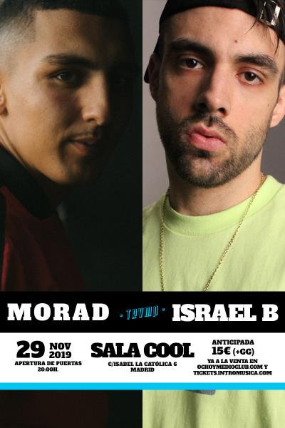 Morad + Israel B en TRVMP (Sala Cool) [ENTRADAS AGOTADAS]