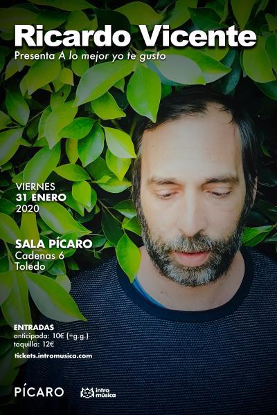 Ricardo Vicente en Toledo (Sala Pícaro)