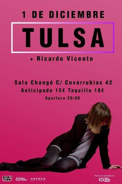 TULSA + Ricardo Vicente en Changó