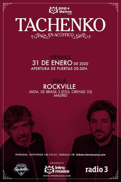 Tachenko en Pop&Dance Small (Madrid, Sala Rockville)