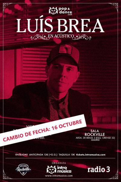 Luis Brea en Pop&Dance Small (Acústico / Madrid / Sala Rockville)