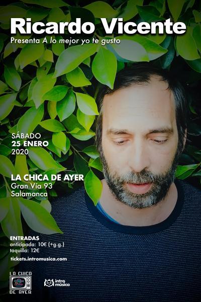 Ricardo Vicente en Salamanca (La Chica de Ayer)