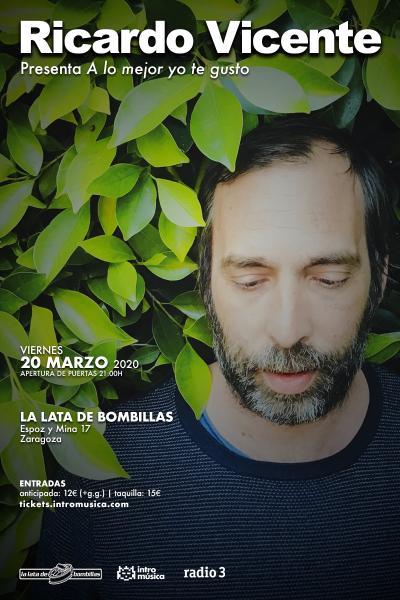 Ricardo Vicente en Zaragoza (La Lata de Bombillas)