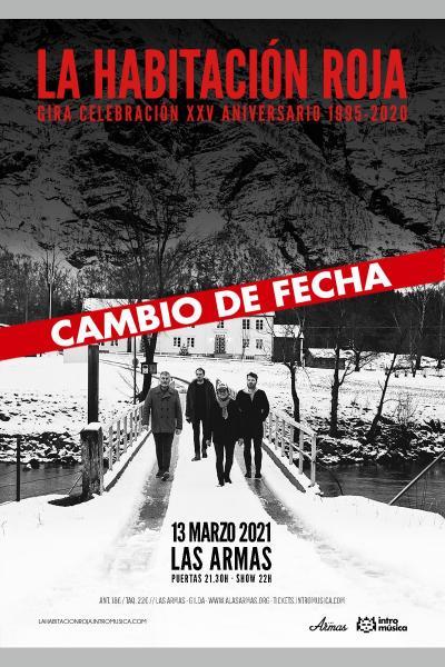 La Habitación Roja: especial 25 años en Zaragoza (Las Armas) [CAMBIO  DE FECHA]