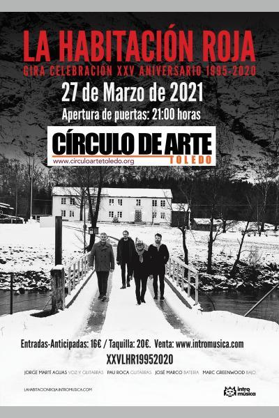 La Habitación Roja: concierto especial 25aniversario en Toledo [CAMBIO DE FECHA]