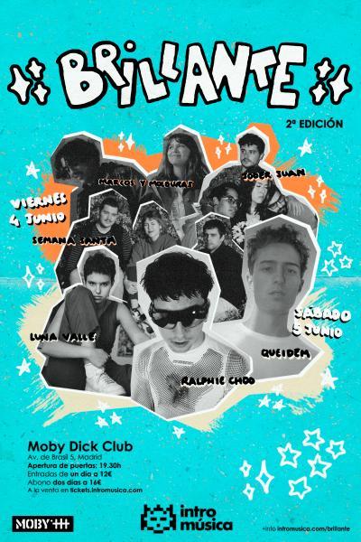 Brillante!✨ 2021 - Madrid (Moby Dick Club)