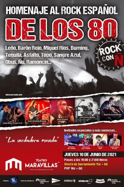 Rock con Ñ · Homenaje al Rock Español de los 80