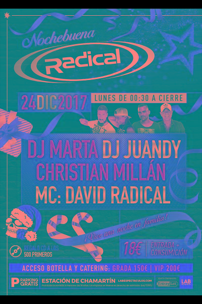 Nochebuena RADICAL 2018