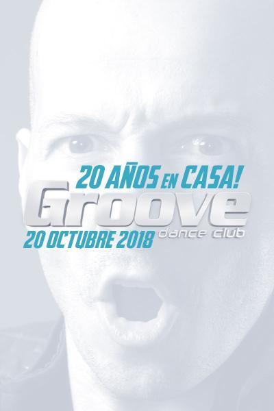 Groove Dance Club 20 años en casa