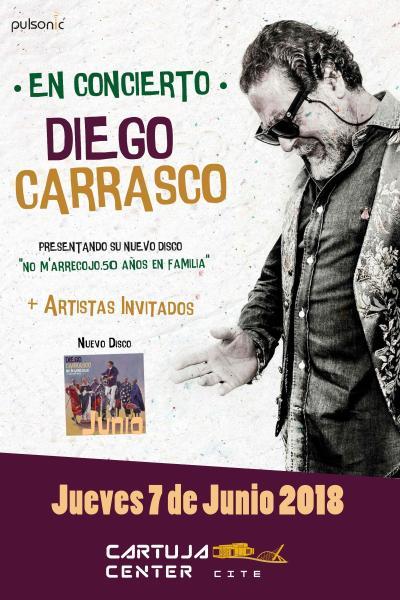 Diego Carrasco en concierto