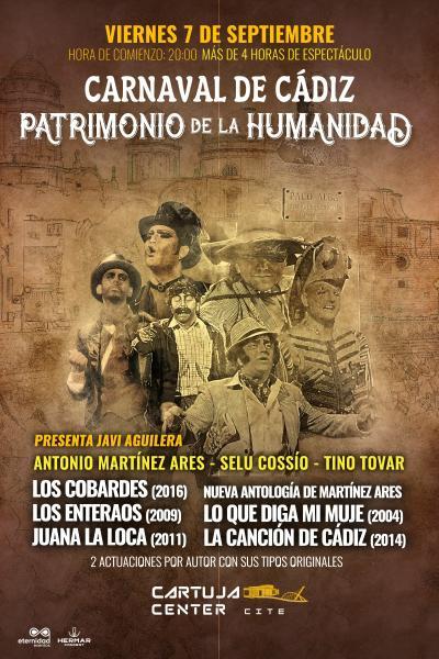 Carnaval de Cádiz, Patrimonio de la Humanidad