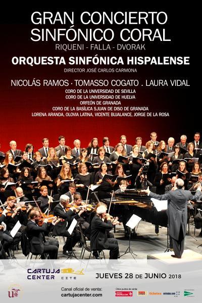 Gan concierto coral Falla y Dvorak