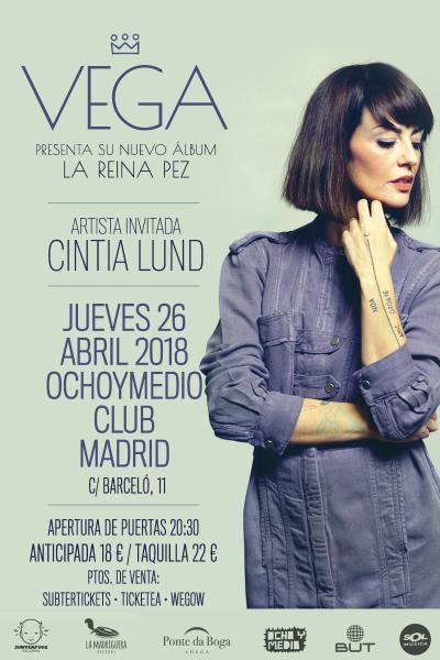 Vega + Cintia Lund en Madrid