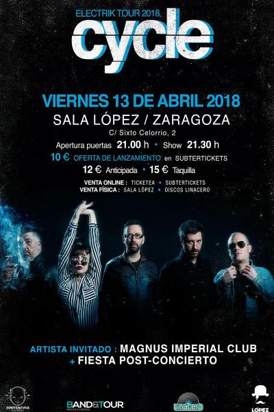 Cycle + Magnus Imperial Club en Zaragoza