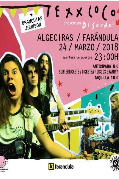 Texxcoco + Branquias Johnson en Algeciras