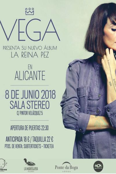 Vega en Alicante (Sala Stereo)