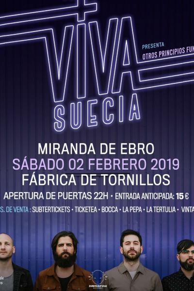 Viva Suecia en Miranda de Ebro