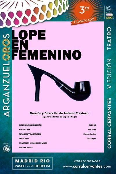 3º Premio Arganzueloros // Lope en Femenino