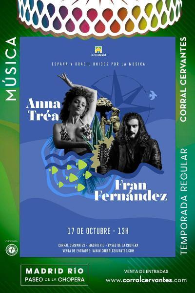 Concierto Anna Tréa y Fran Fernández
