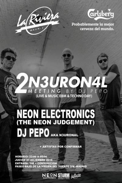 2º N3URON4L MEETING by Dj Pepo