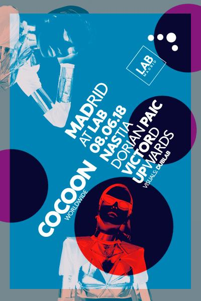 Nastia at Cocoon - LAB Madrid - 08JUN18