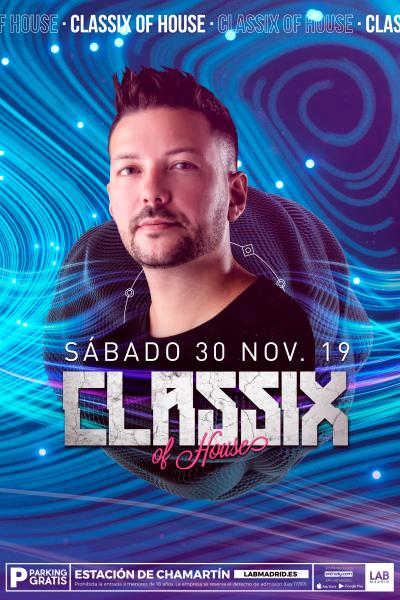 CLASSIX OF HOUSE & FRAN ARES 15º ANIVERSARIO