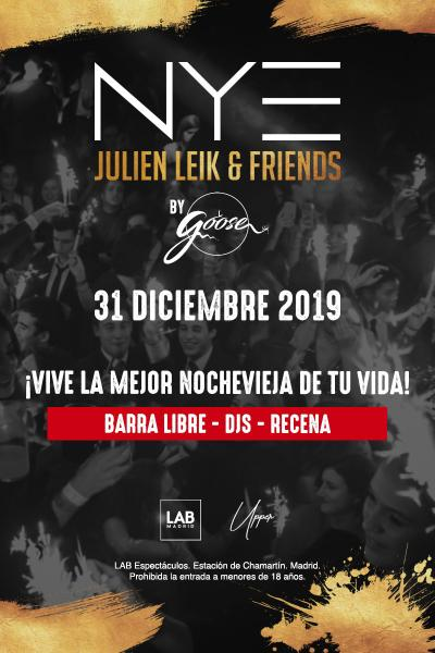 NYE - Julien Leik & Friends