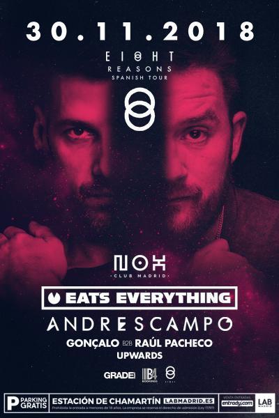 Andres Campo B2B Eats Everything en Nox Club Madrid - 30NOV18