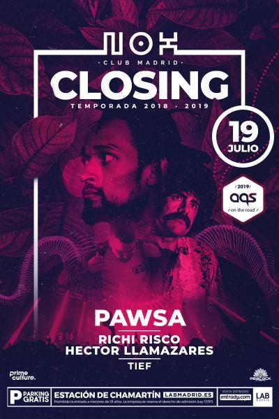 Closing Party en Nox Club Madrid