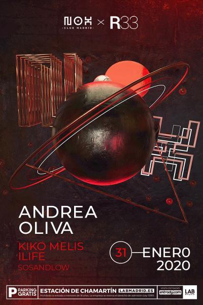 Andrea Oliva en Nox Club Madrid