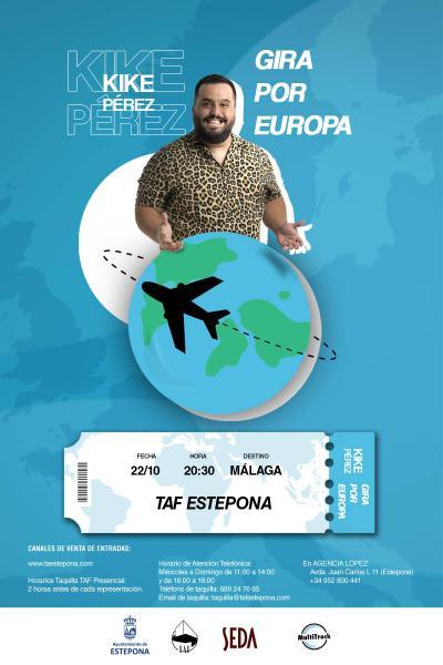 Kike Pérez, gira por Europa