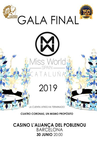 Miss World Catalunya - Gala Final