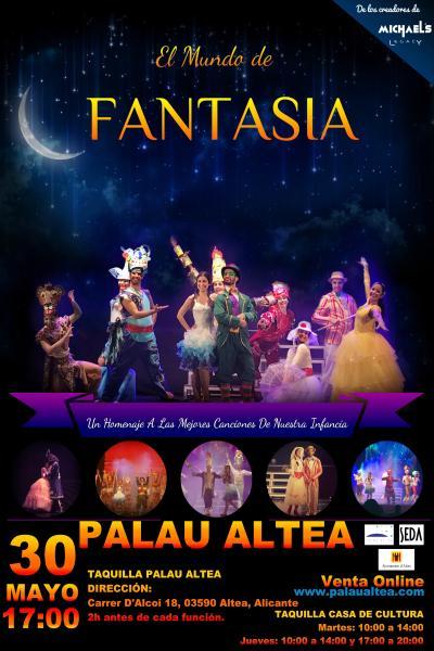 El mundo de fantasía. Jackson Dance Company