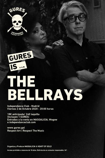 The Bellrays en Madrid | Gures is on tour